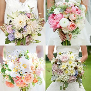wedding flowers bride